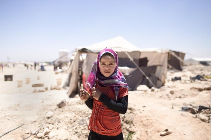 menina-siria-num-campo-de-refugiados-na-jordania